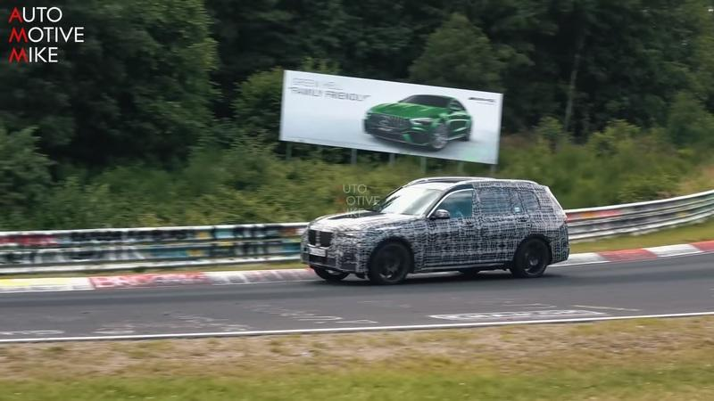 The BMW X7 Got Caught Playing on The Nurburgring