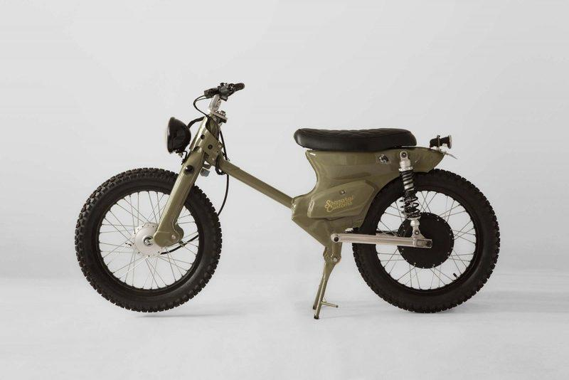 Shanghai Customs have come up with this electric powered eCub 2 bike and kit Exterior - image 789635
