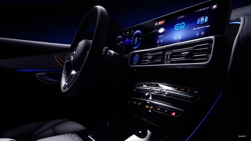 The Interior of the Mercedes EQC is Downright Stunning