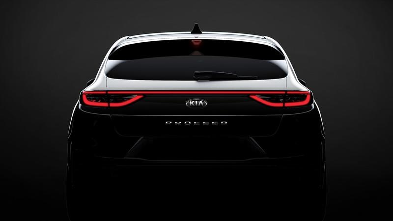 The Kia Proceed Looks Good From Behind!
