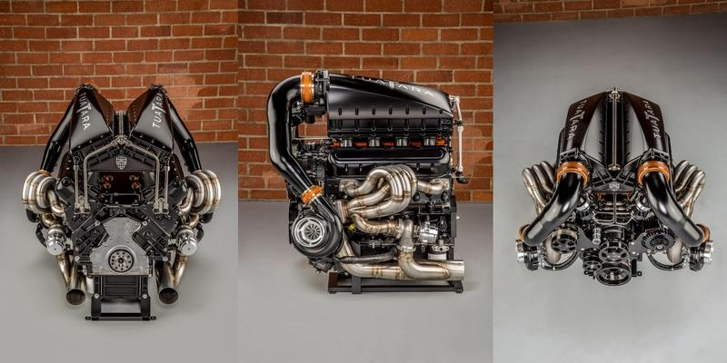 The SSC Tuatara's Twin-Turbo V-8 Is a Work of Art Drivetrain - image 790829