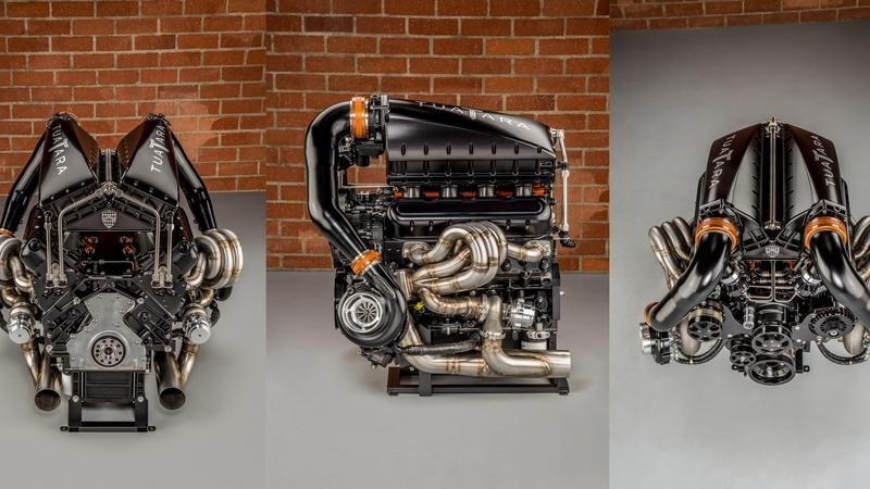 The SSC Tuatara's Twin-Turbo V-8 Is a Work of Art