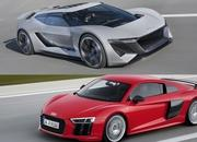 This Is How The Audi PB18 e-tron Compares To The Audi R8 V-10 Plus - image 793871
