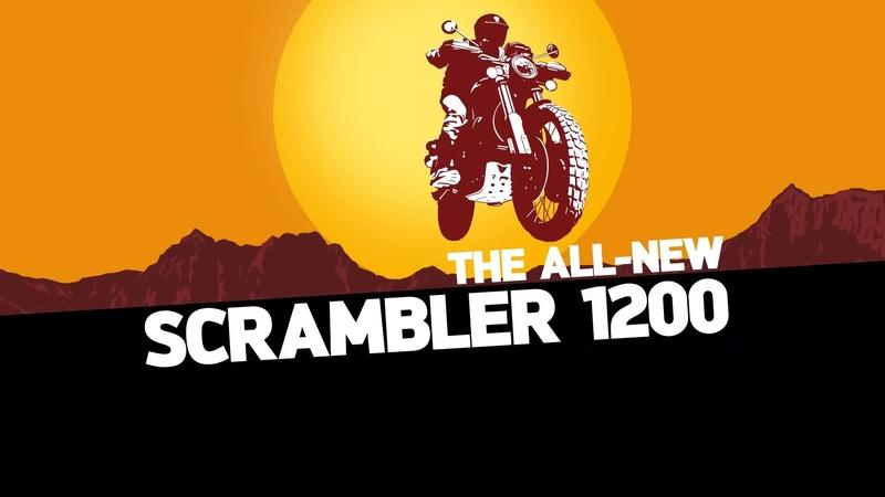 Triumph's 1200cc Scrambler confirmed with this video