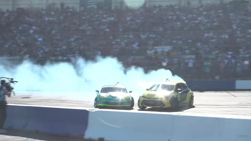 Video: The Hoonigan Crew Catches Up With a 1,000-HP Drift Monster