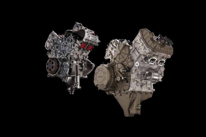 Ducati currently developing new products to run on the V4 architecture
