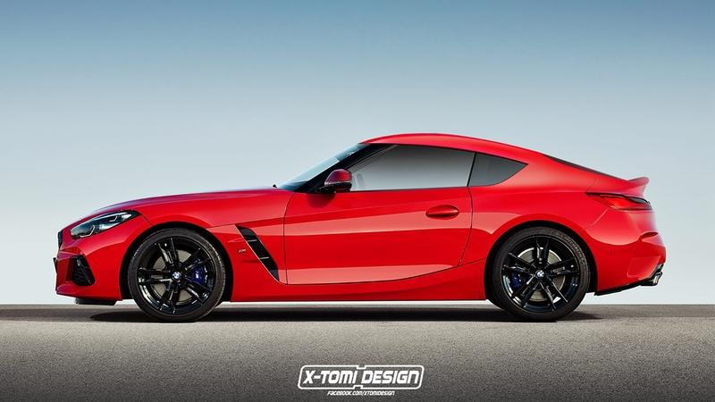 Xtomi's Z4 Coupe Rendering - Proof That the 2019 Toyota Supra Will Be Better than the BMW Z4