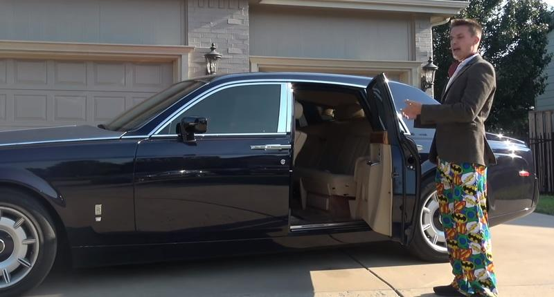 YouTube Star's $80,000 Rolls-Royce Phantom Has A Few Problems With It