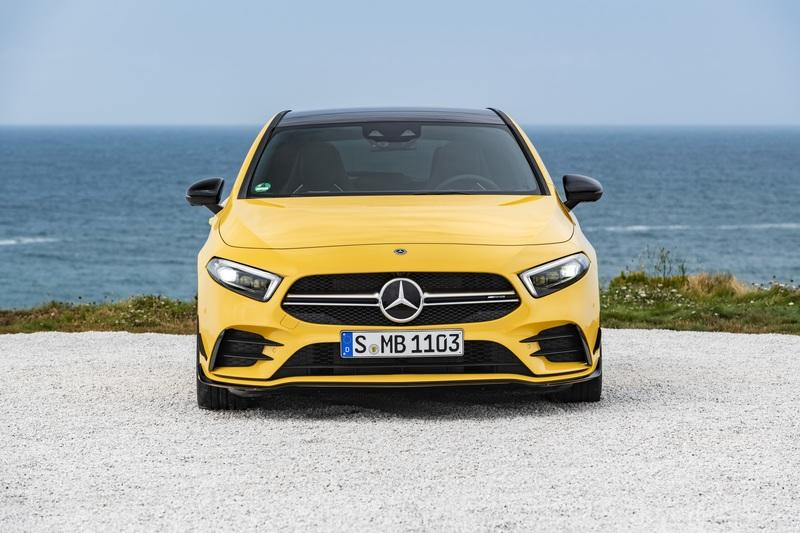 Mercedes Finally Shows Us the 2019 AMG A35 in the Metal at the Paris Motor Show