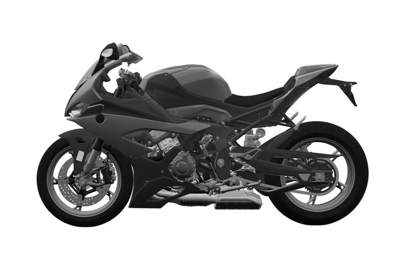 BMW's new lethal S-1000RR superbike designs leaked