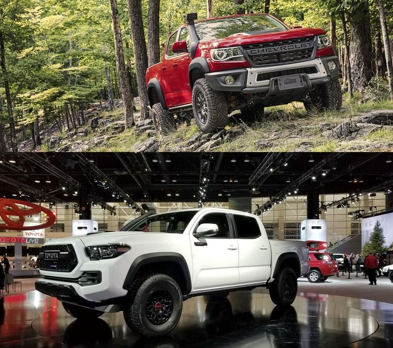 2019 Chevy Colorado Zr2 Bison Vs 2019 Toyota Tacoma Trd Pro Top Speed