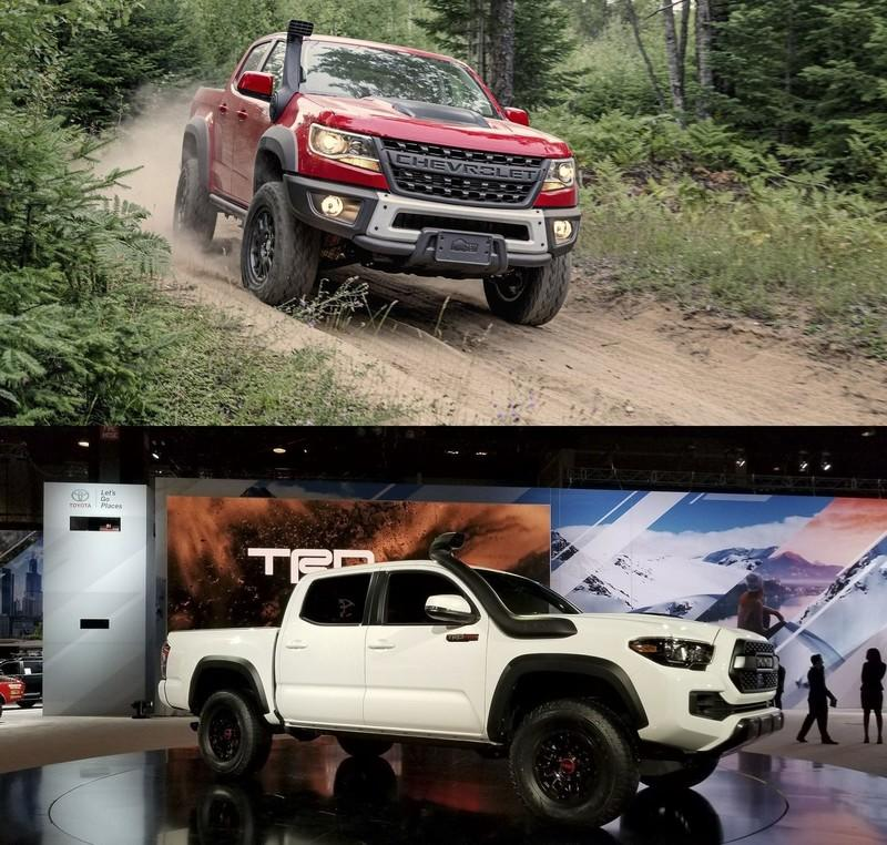 2019 Chevy Colorado ZR2 Bison Vs. 2019 Toyota Tacoma TRD Pro
