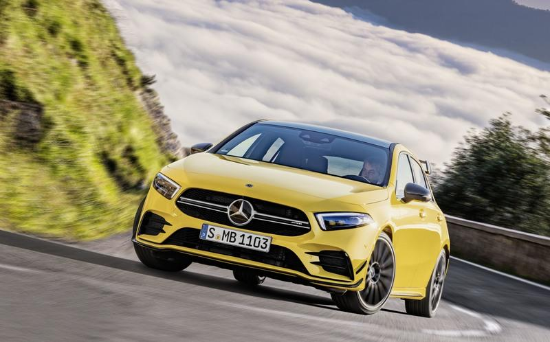 2019 Mercedes-AMG A35 4Matic Unveiled