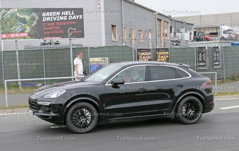 2019 Porsche Cayenne Coupe Rumored to Debut In a Matter of Weeks