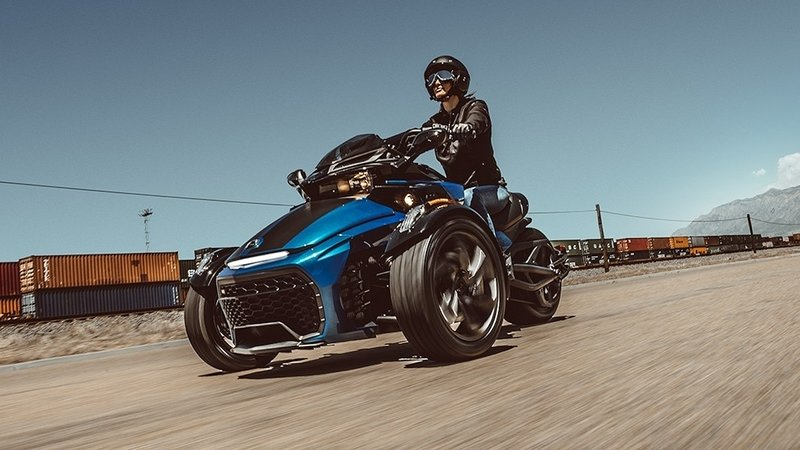 2018 - 2019 Can-Am Spyder F3 / F3-S