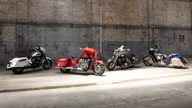 New 2019 Chieftain Lineup From Indian Motorcycle