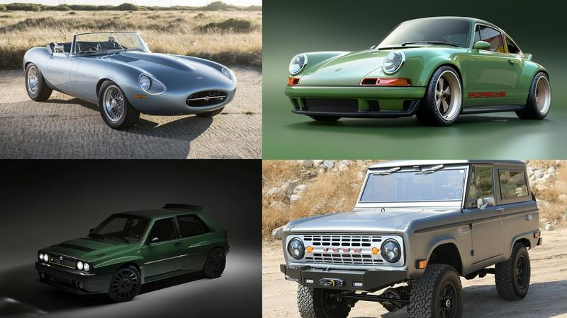 7 Of The Best Resto-Mod Cars
