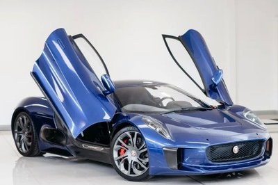 A 2016 Jaguar C-X75 Stunt Car From James Bond Spectre is Up for Sale