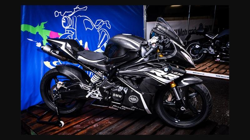 Is this the BMW G310RR? The German's new secret mini weapon?