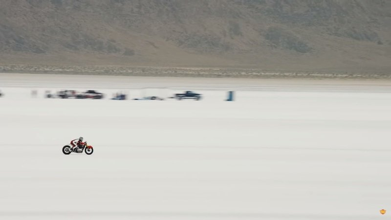 Royal Enfield shattered a land speed record on the Continental GT 650