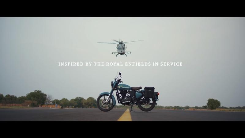 "Royal Enfield salutes the armed forces with this special ""Signals"" edition of the Classic 350 Exterior - image 796554"