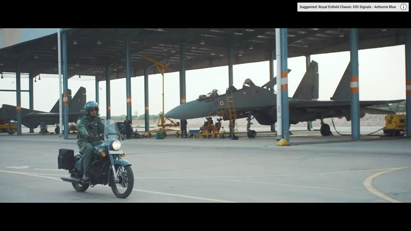 "Royal Enfield salutes the armed forces with this special ""Signals"" edition of the Classic 350 Exterior - image 796553"