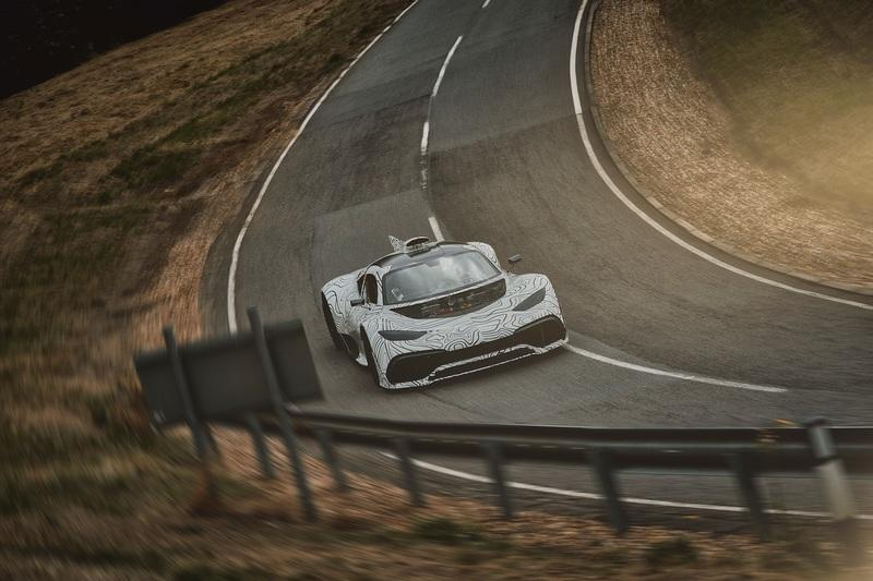 The Mercedes-AMG One Supercar: On The Road to 1,200 Horsepower