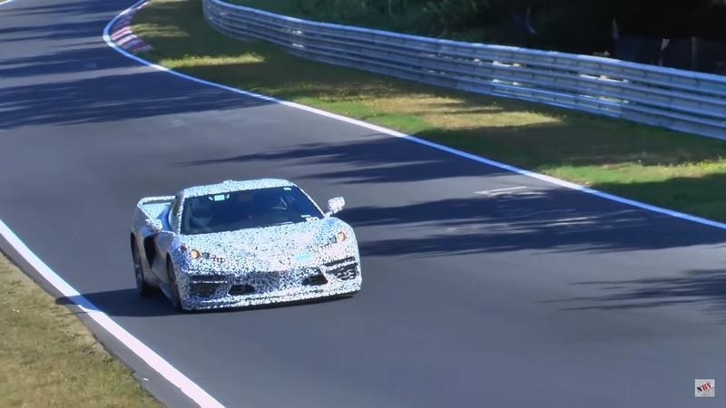 Chevrolet Corvette C8 Caught Testing at the Nürburgring