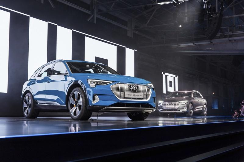 The 2019 Audi E-Tron SUV Debuts With a $75,000 Price Tag, Max Towing Capacity of 4,000 Pounds