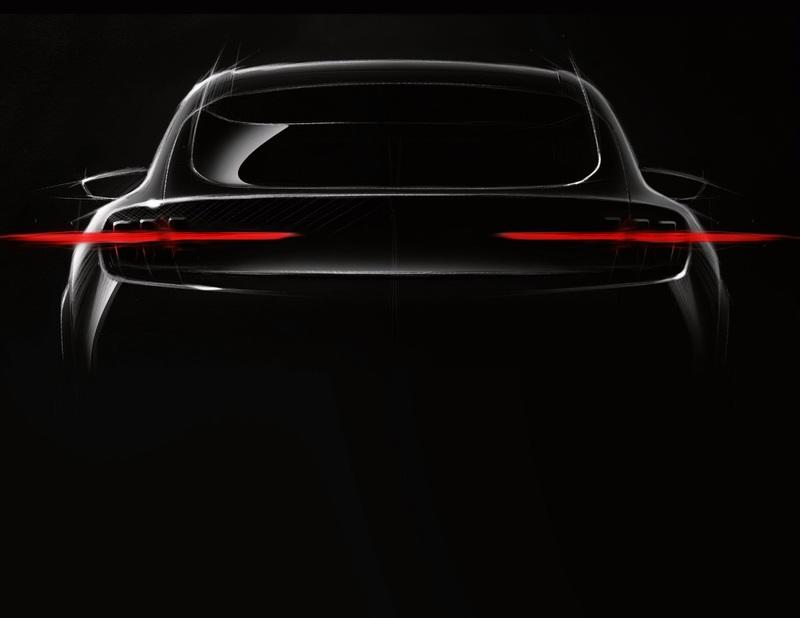 Ford Teases the 2020 Mach 1 SUV with a Very Mustang-Like Rear End