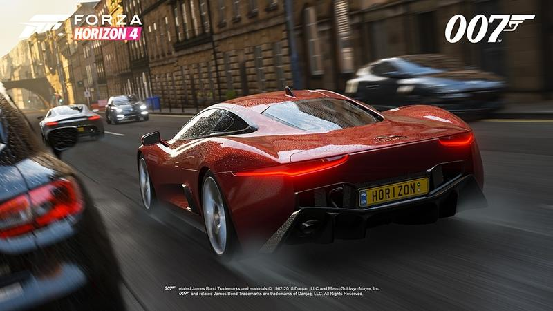 Forza Horizon 4 Gets Bond Car Pack