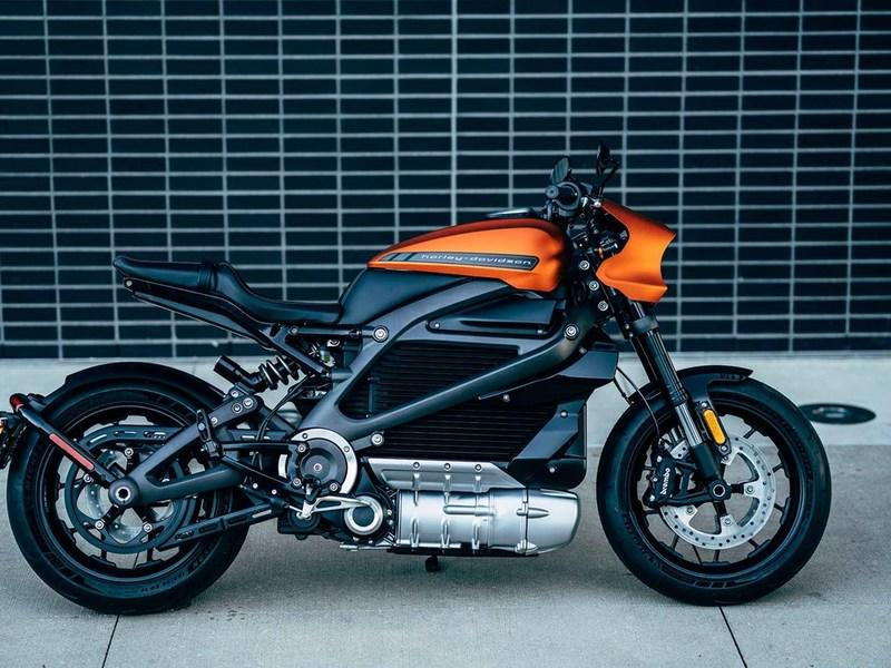 Production ready Harley Davidson LiveWire in the flesh