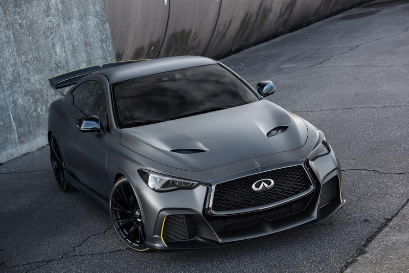 Infiniti Project Black S Gets Hybrid Powertrain for Paris