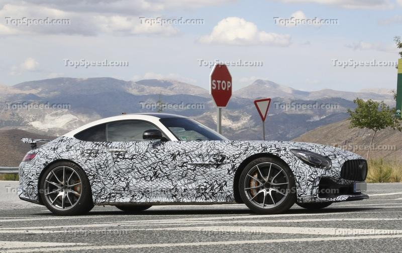 Is this the upcoming Mercedes AMG GT R Black Series?