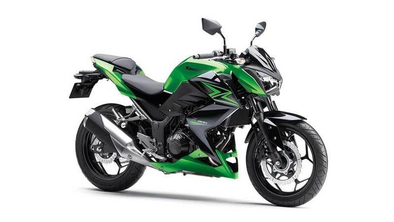 Kawasaki to introduce the naked Z400 as the 2019 model