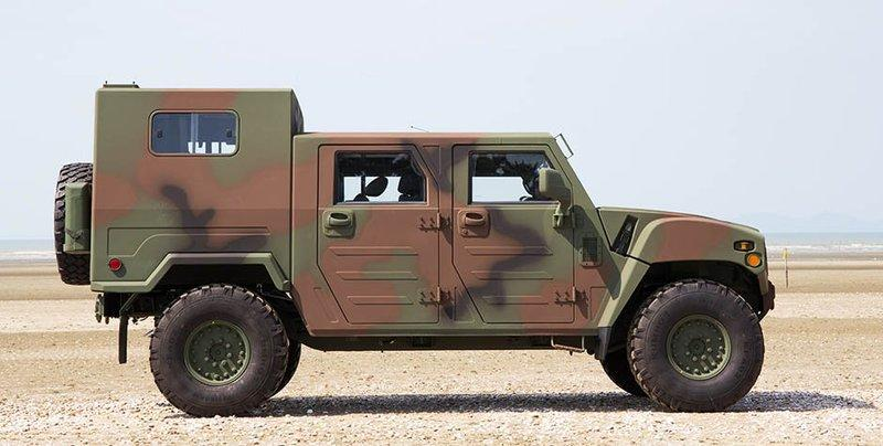 Kia's Light Tactical Vehicle Reminds Us More of a Humvee Than a Telluride