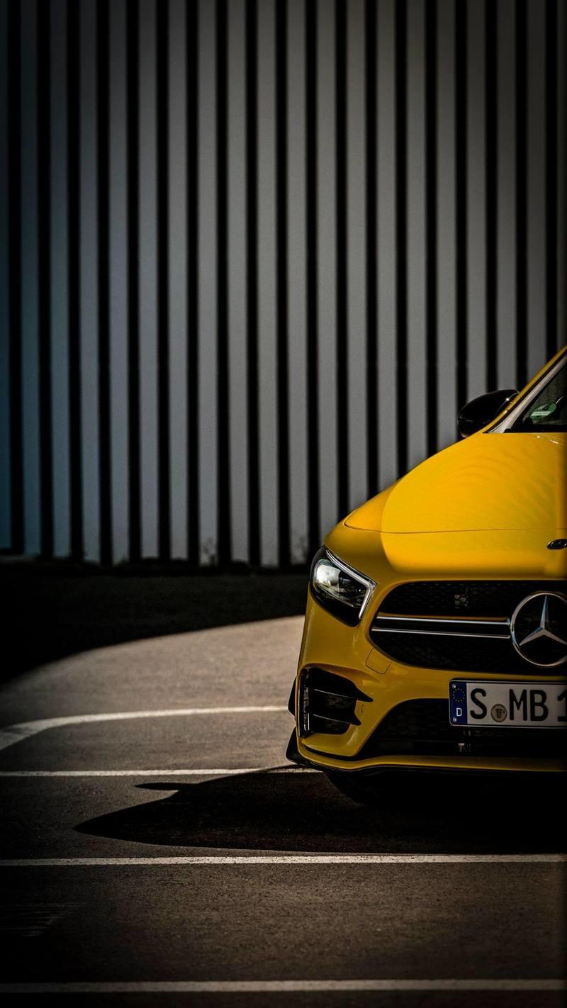 Mercedes-AMG A35 reveals its wing in new teaser
