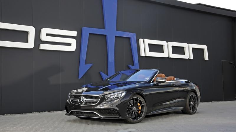 2018 Mercedes-AMG S 63 Cabrio by Posaidon