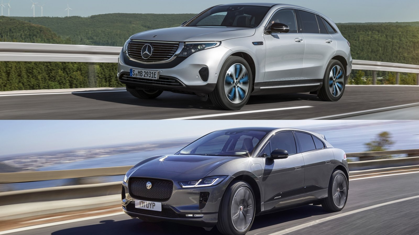 Who Makes Cadillac >> Mercedes-Benz EQC Vs Jaguar I-Pace Pictures, Photos ...