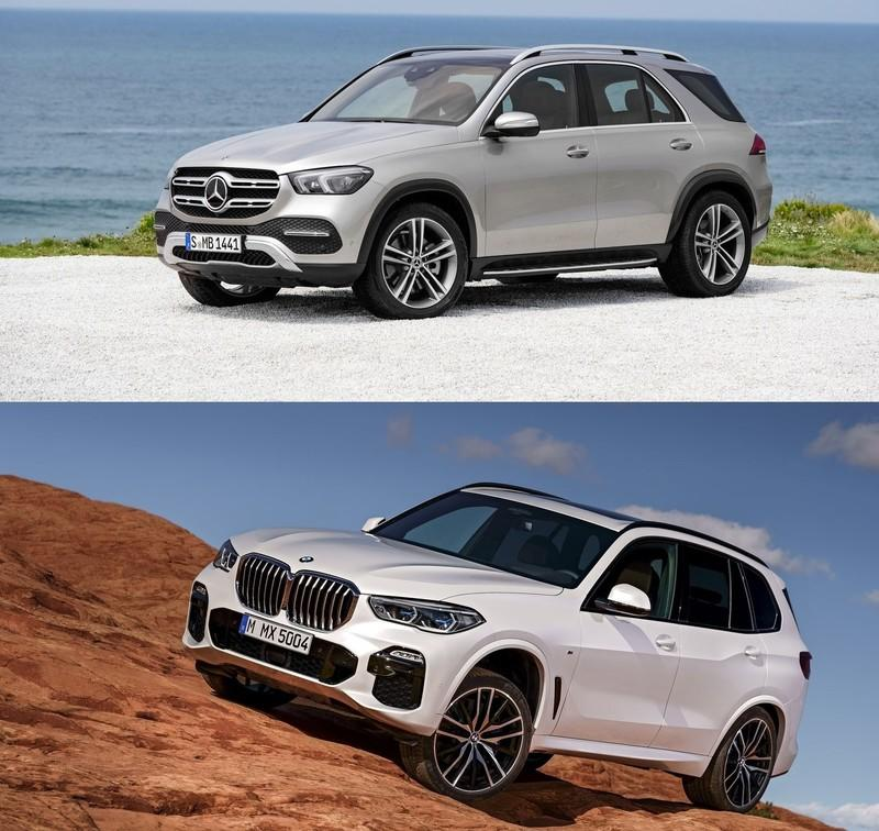 2020 mercedes benz gle vs 2019 bmw x5 top speed. Black Bedroom Furniture Sets. Home Design Ideas