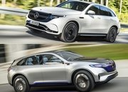 Mercedes EQC vs Mercedes Generation EQ Concept - image 794291