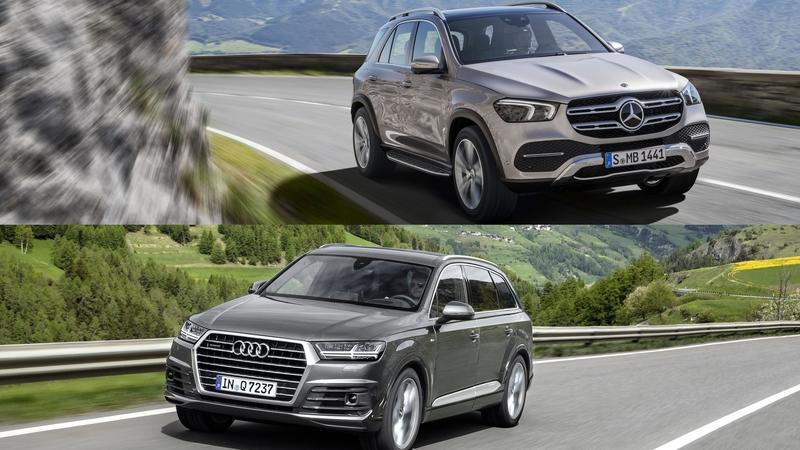 Mercedes GLE vs Audi Q7