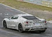 Mid-engined Chevrolet Corvette C8 caught testing at Nurburgring - image 794061