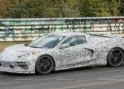 Mid-engined Chevrolet Corvette C8 caught testing at Nurburgring - image 794067