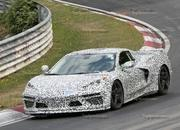 Mid-engined Chevrolet Corvette C8 caught testing at Nurburgring - image 794053