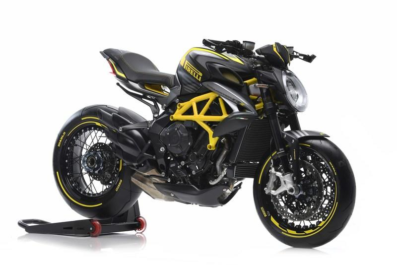 MV Agusta is making a limited run Dragster 800 RR PIRELLI