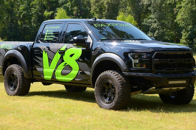 2018 Ford F-150 Raptor V-8 PaxPower