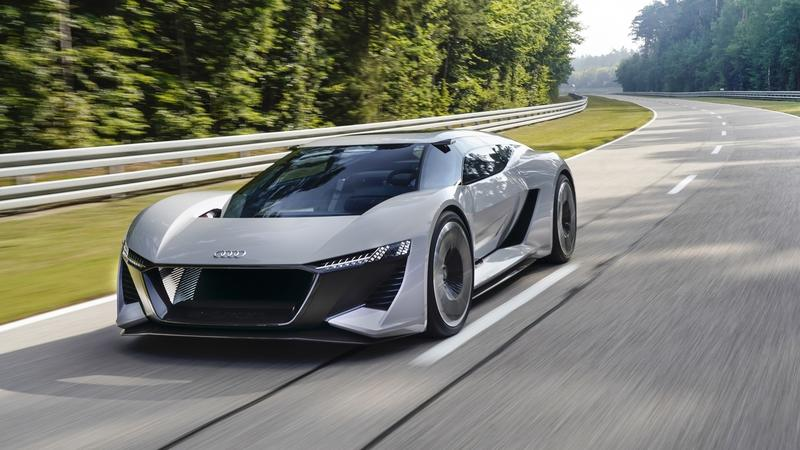Next-Gen Audi Supercar Could be an All-Electric, 1,000-Horsepower Monster