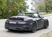 We Just Caught the 992-Gen, 2019 Porsche 911 Turbo Cabrio with Its Top Down! - image 795733