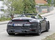 We Just Caught the 992-Gen, 2019 Porsche 911 Turbo Cabrio with Its Top Down! - image 795734